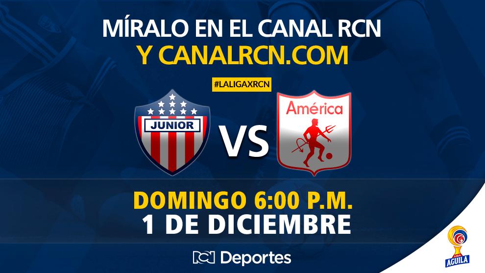 Liga Águila II-2018: Junior vs Equidad