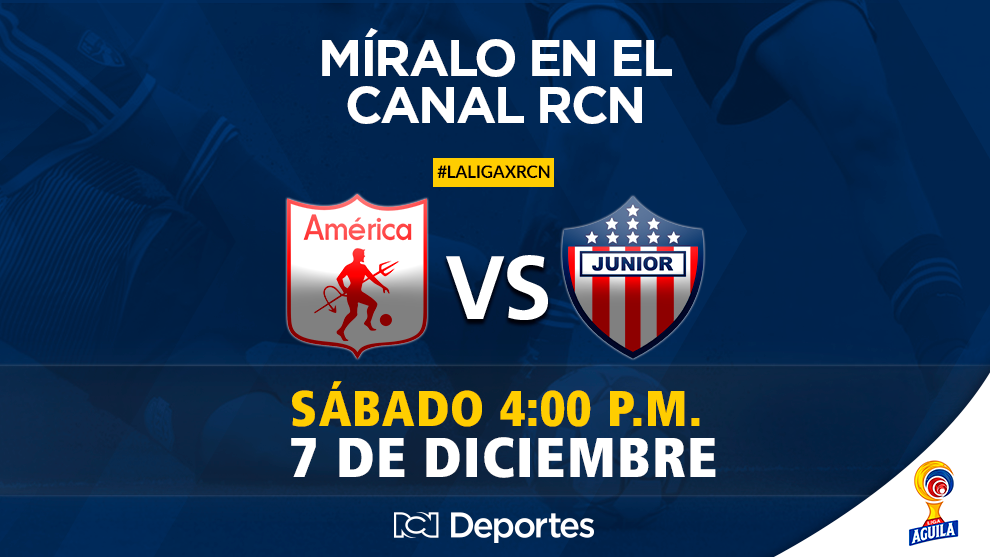 Final - Vuelta Liga Águila II 2019: América de Cali Vs. Junior